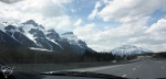On the way to Banff.