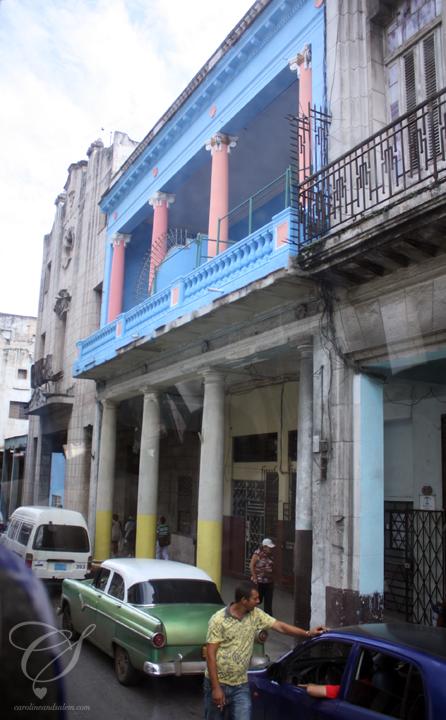 """Non-touristic Habana. La partie de la Habane qui n'est souvent pas """"destinée"""" aux touristes."""