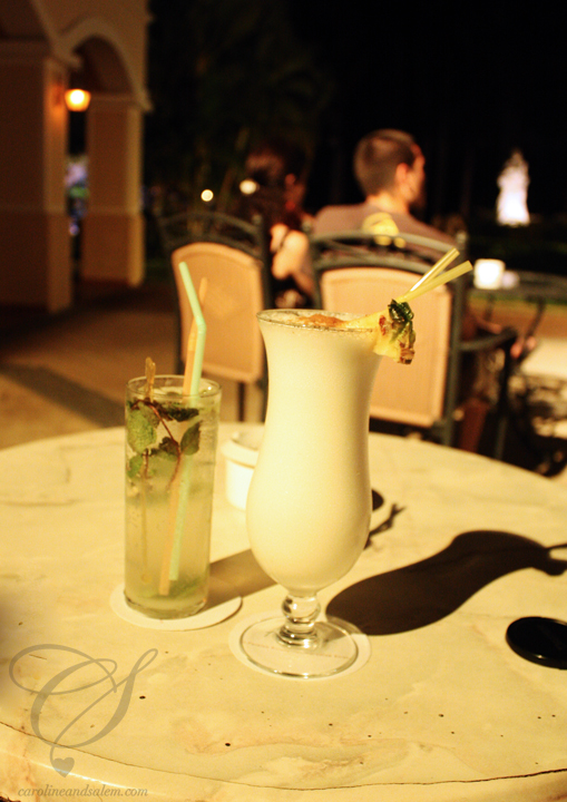 We stocked up on mojitos and pina coladas while in Cuba. Still virgin though - be good!