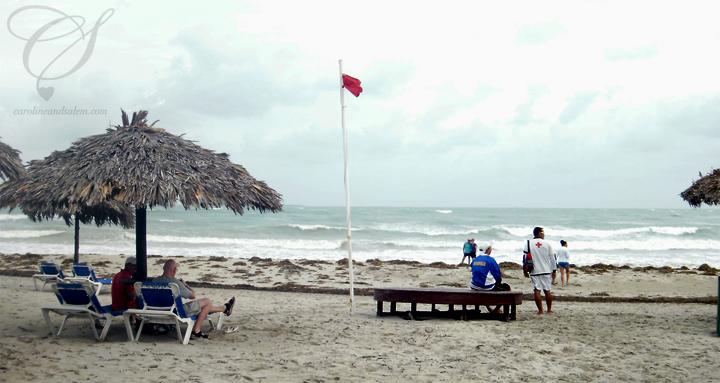 Our trip to varadero days 6 7 8 carolineandsalem for Algues rouges piscine