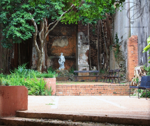 Secret garden. Jardin secret.