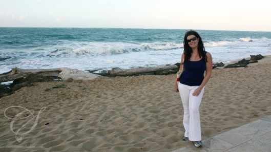 Beach access! L'accès à la plage.