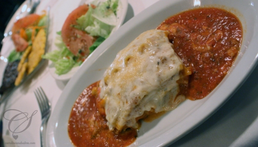 Lasagna, how I have missed you! La lasagne, comme tu m'as manqué!